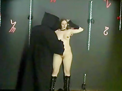 beaten & humiliated to piss that goth bitch ! Scream and Piss you pig