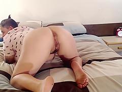 Dyke Lesbian Major ASS farting Relief Asshole Blowing