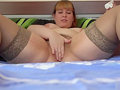 fisting young bbw with a big hairy pussy