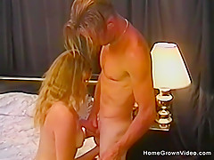 Blonde slut wants a big cock to fill her up fuck holes