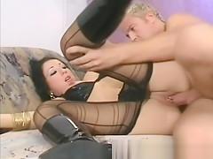 Super sexy milf home fuck video