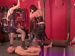 Dominas whipping submissive subject