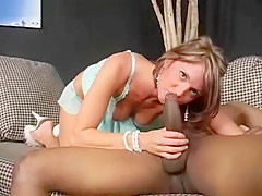 Blonde is a Black Cock Sucker