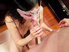 Sexy lactating tits squirter gets fucked deeply