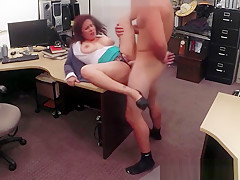 Bigtitted pawnshop wifey fucking for cash