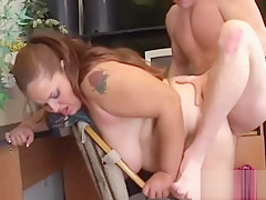 Elizabeth pussy was aching for cock