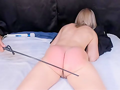 My ass gets the belt