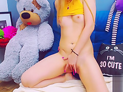 Sexy Cam girl smokes again