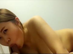 chinese couple blowjob and fuck