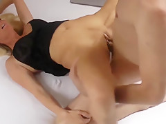 Hot MILF Having Fun WIth Neighbor While Husband in Shower