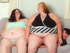 850 Pounds - Fat Girls Facesit, Squash and Smother Human Furniture