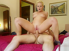 Date Slam - Sexy thick blonde gets fucked on 1st date - Part 2