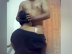 Indian couple playing each other and enjoying sex
