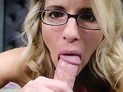 Cory Chase in Comforting Blowjob from Mom