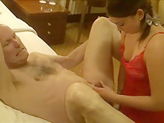 Ulf Larsen fucked by young woman