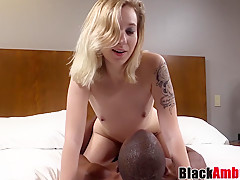Amateur Kiera surprised by BBC before hardcore casting