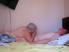How it is done in Russia. Grandma Tanya and Grandpa Vitya
