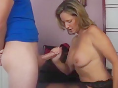 A Surprise Christmas gift for wife, big dick and creampie