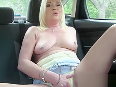 She Prefers To Be OUT in the OPEN When She Makes Herself CUM