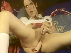 Naughty School Girl Plays Nasty for Teacher