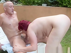 Horny granny bbw riding cock and cant get enough