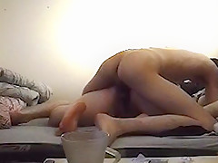 HOT PAWG GIRL CATCHED ON CAM CHEATING - BIG ASS TEEN MOANING