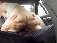 Seductive eurobabe sucks cops cock