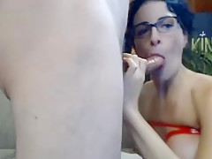 Amateur Couple Hot Deepthroat Action