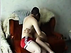 Serbian Juvenile Legal Age Teenager Non-Professional Pair Homemade Daybed Fuck