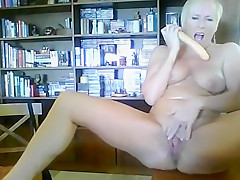 Blondie for her master