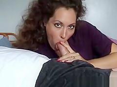 Beautiful Brunette Mature Milf Gives Handjob