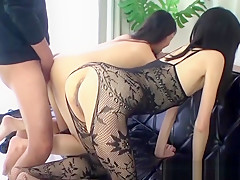 Sexy young asian girl fucked in her tight ass