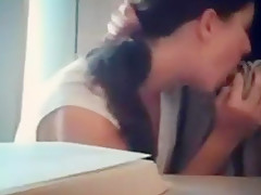 CHEATING MY HUSBAND IN THE OFFICE! cuckold Boss hotwife slut-