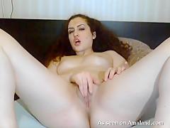 Horny Arab Gf Having Fun With Her Vibrator - TheGFNetwork