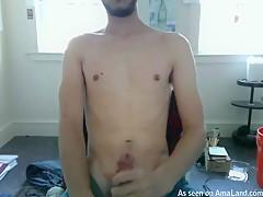 Bearded Twink Makes Himself Cum - 429Videos