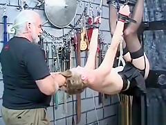 Amateur pussy toy bondage-