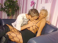 Seducing buxomy German mature female Lana Vegas on real homemade porn video