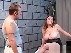 Sweetie pussy fuked bondage-