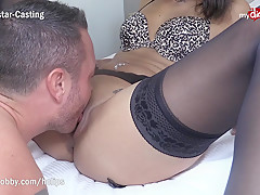 MyDirtyHobby - First time rimming and fucking a black babe