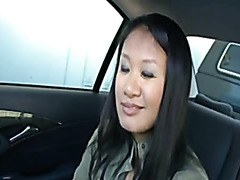 corpulent oriental bonks in the back seat bareback