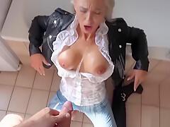 deutsch blonde babe anal fick