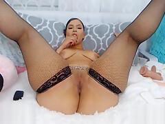 Her Big Twerking Black Ass Is Too Huge To Handle