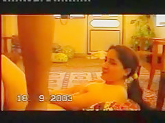 Arab hijab girl undresses and has sex with her husband on the floor