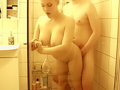 Amazing sex in the shower