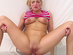 POV babe loves analsex after blowjob