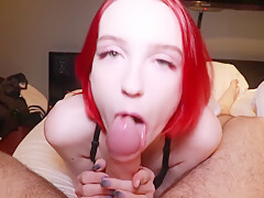 Cute Teen Blowjob Big Dick and Hard Pussy Fuck after a Walk