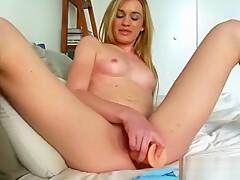 (daisy woods) Hot Alone Girl Masturbates On Camera With Sex Stuffs clip-25