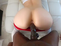Casting Couch - Blonde Slut Tries Out For Rap Video