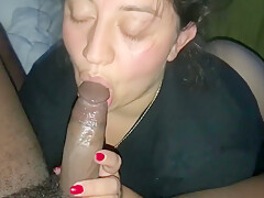 wedding ring wife sucks bbc