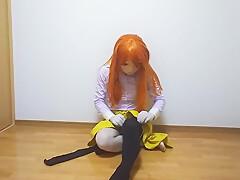 Kigurumi pantyhose(flared skirt, knee high socks)-